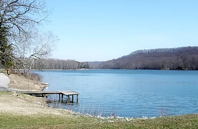 Lake in Jackson County, Indiana