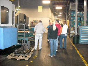 Educators Tour Industry