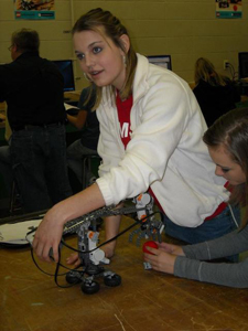 Lego Robotics Demonstration at Brownstown Central Middle School