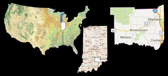 Jackson County Indiana - Prime Location